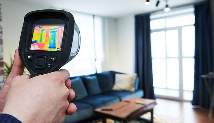 Thermal Imaging Inspections around Houston TX