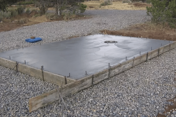 Slab on Grade Foundation Without Post-Tension Cables