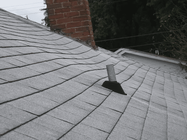 Sagging Roof Shingles