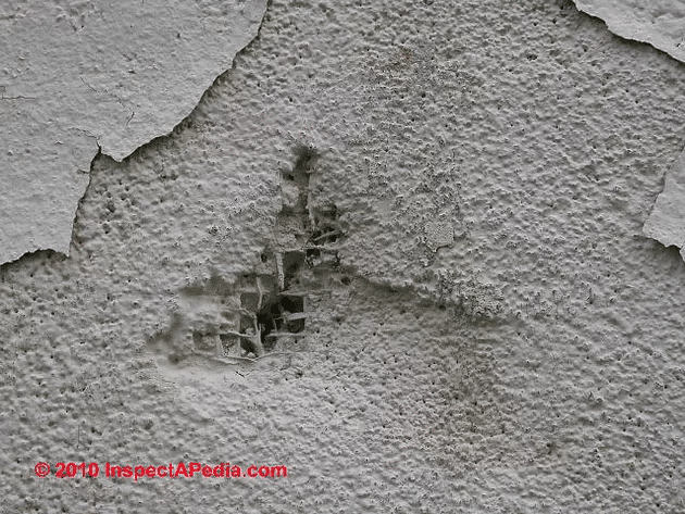 Spalling and Moisture Penetration